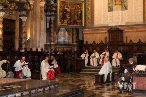 Laudes en la festividad de la Asunción (Catedral de Valencia). Foto de Manolo Guallart.