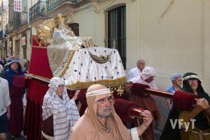 Traslado de la Dormición de la Virgen desde la iglesia del Milagro. Foto de manolo Guallart.