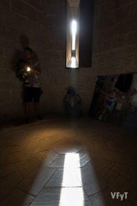 Alineamiento solar en el Miguelete de la Catedral de Valencia. Foto de Manolo Guallart.