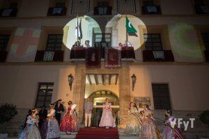 Noche del Pregón en Paterna. Foto de Manolo Guallart.
