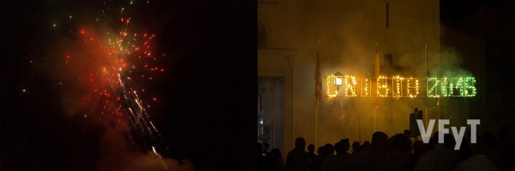 Homenaje por el 75º aniversario al Cristo de la Fe en Alcàsser. Foto de Manolo Guallart.
