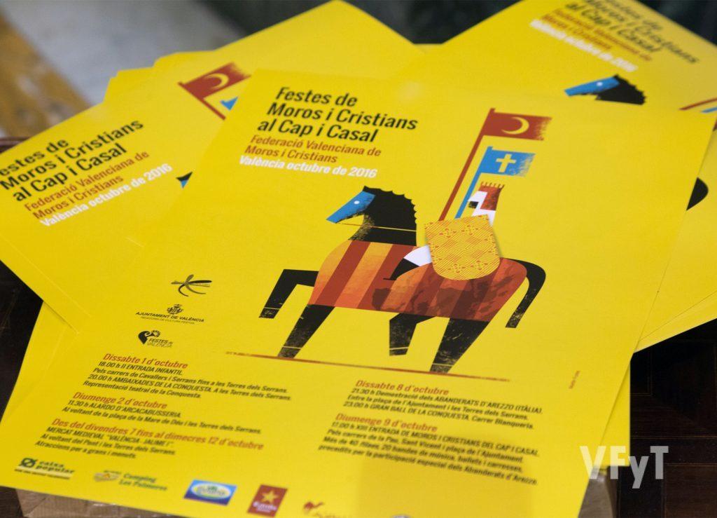 Cartel oficial, obra de Martín Forés. Foto de Manolo Guallart.