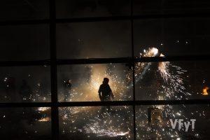 Pólvora en el cohetódromo de Paterna. Foto de Manolo Guallart.