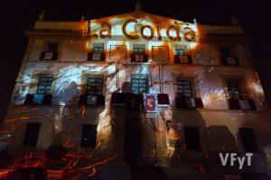 """Homenaje a la """"Cordà"""" de Paterna en el Pregón de las fiestas. Foto de Manolo Guallart."""