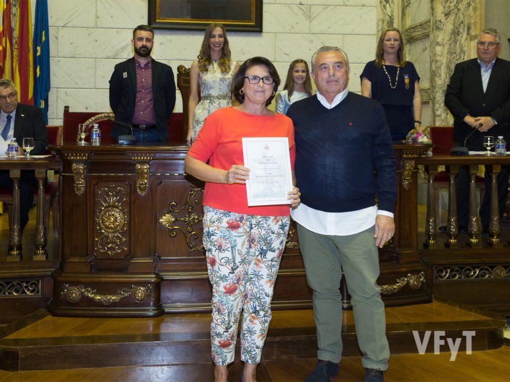 Tercer premio Categoría A. FALLA MESTRE GOZALBO – COMTE ALTEA. Foto de Manolo Guallart.