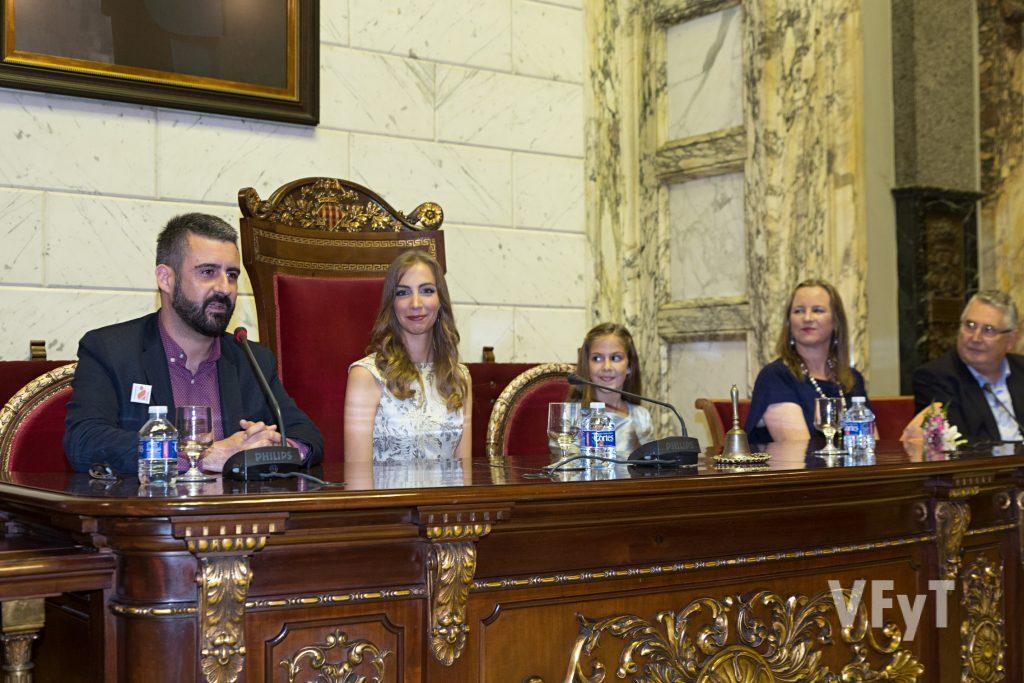 La intervención del concejal de Cultura Festiva, Pere Fuset. Foto de Manolo Guallart.