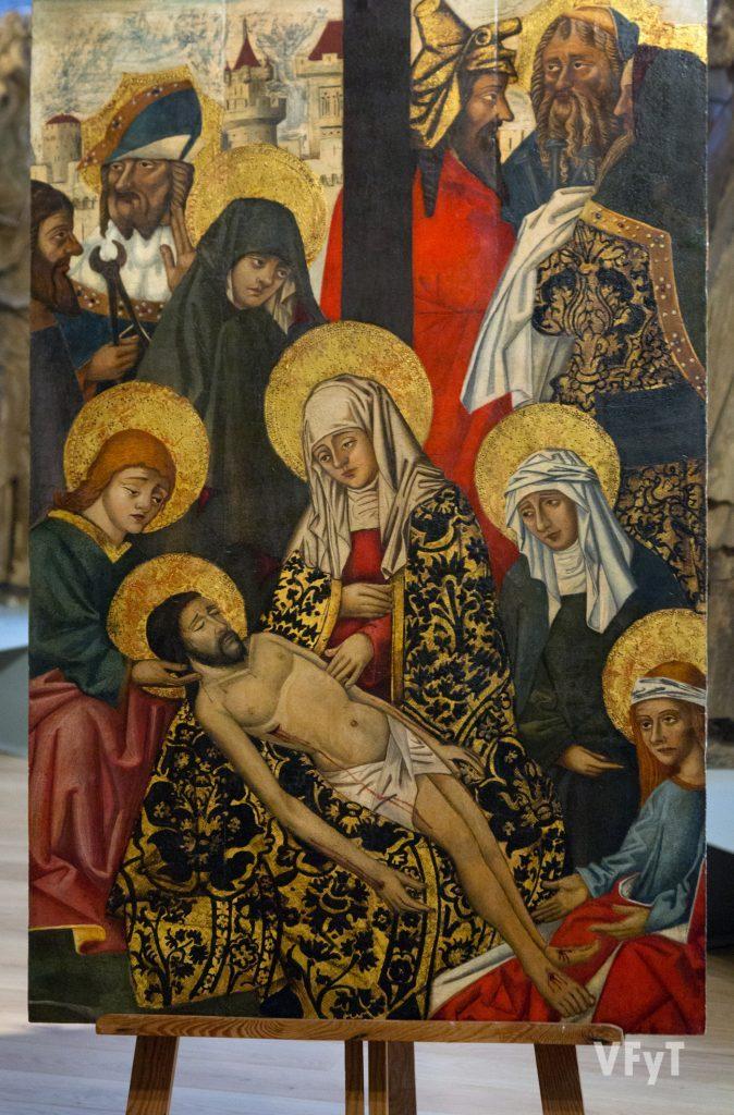"""""""Descendimiento de Cristo de la Cruz"""". Foto de Manolo Guallart."""