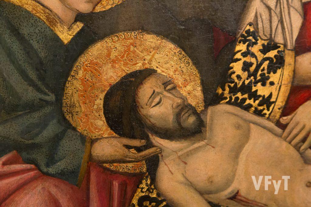 """Detalle del """"Descendimiento de Cristo de la Cruz"""". Foto de Manolo Guallart."""