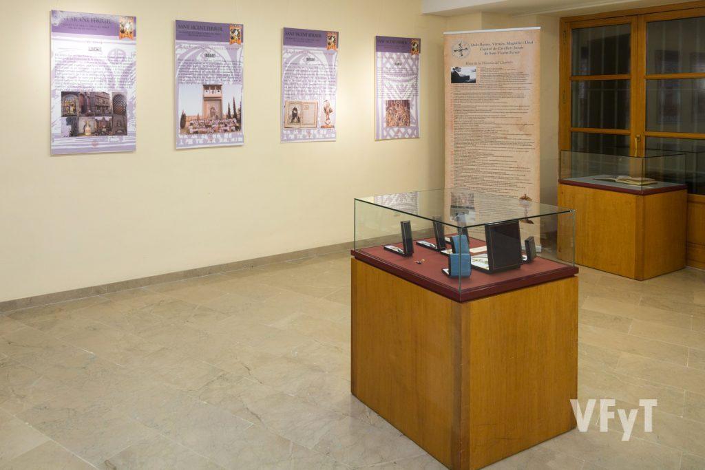Exposición vicentina del Capítulo de Caballeros Jurados de San Vicente Ferrer. Foto de Manolo Guallart.