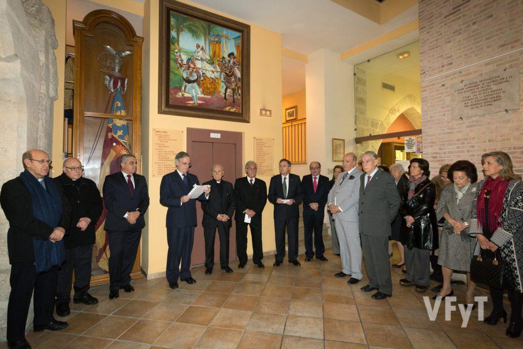 Inauguración de la exposición vicentina en la Real Academia de Cultura Valenciana. Foto de Manolo Guallart.