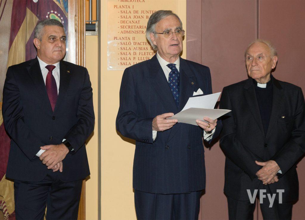 El Lloctinent General, José Fco. Ballester-Olmos, en su intervención. Foto de Manolo Guallart.