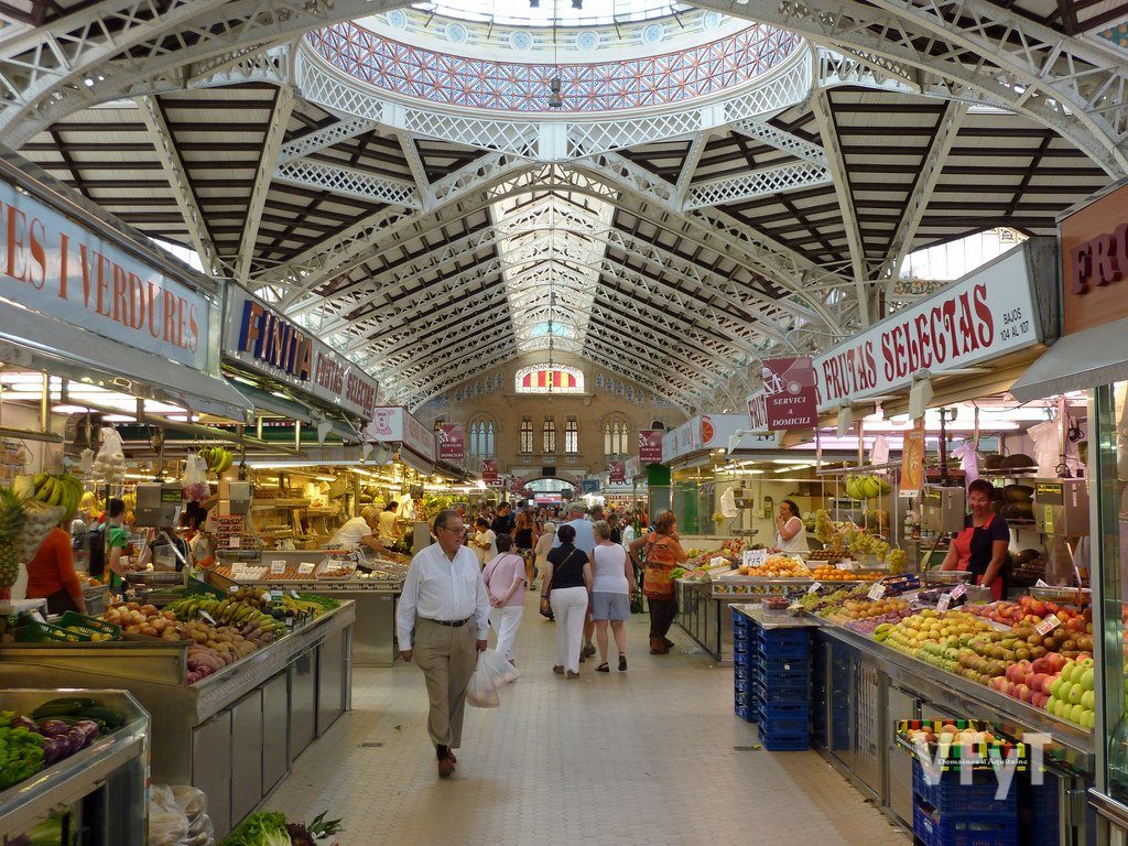 Mercado Central. Foto de archivo