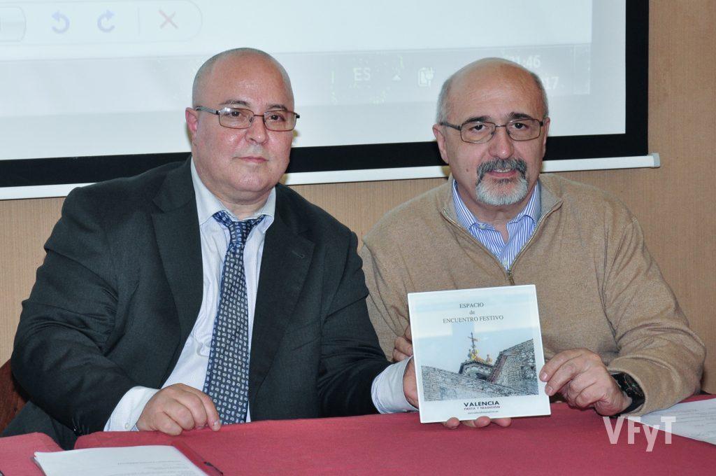 José Miguel Colás con Manolo Guallart. Foto de Vicente Almenar.