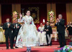 Noelia Durbán, Regina dels Jocs Florals. Foto de Manolo Guallart.
