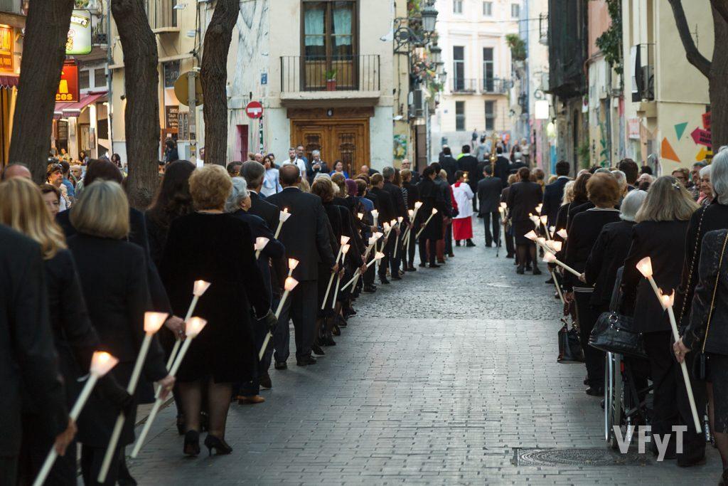 Procesión del santo Entierro en Ciutat Vella