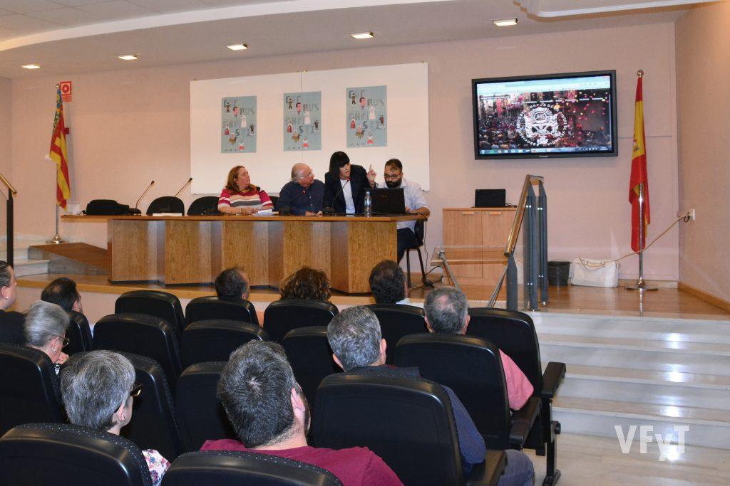 Presentación de la web de 'Amics del Corpus' en el Museo de la Ciudad. Foto de Vicente Almenar.