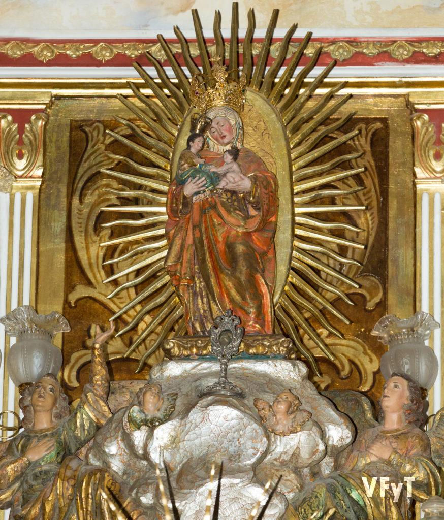 La imagen original de Santa Ana en la parroquia de Borbotó.