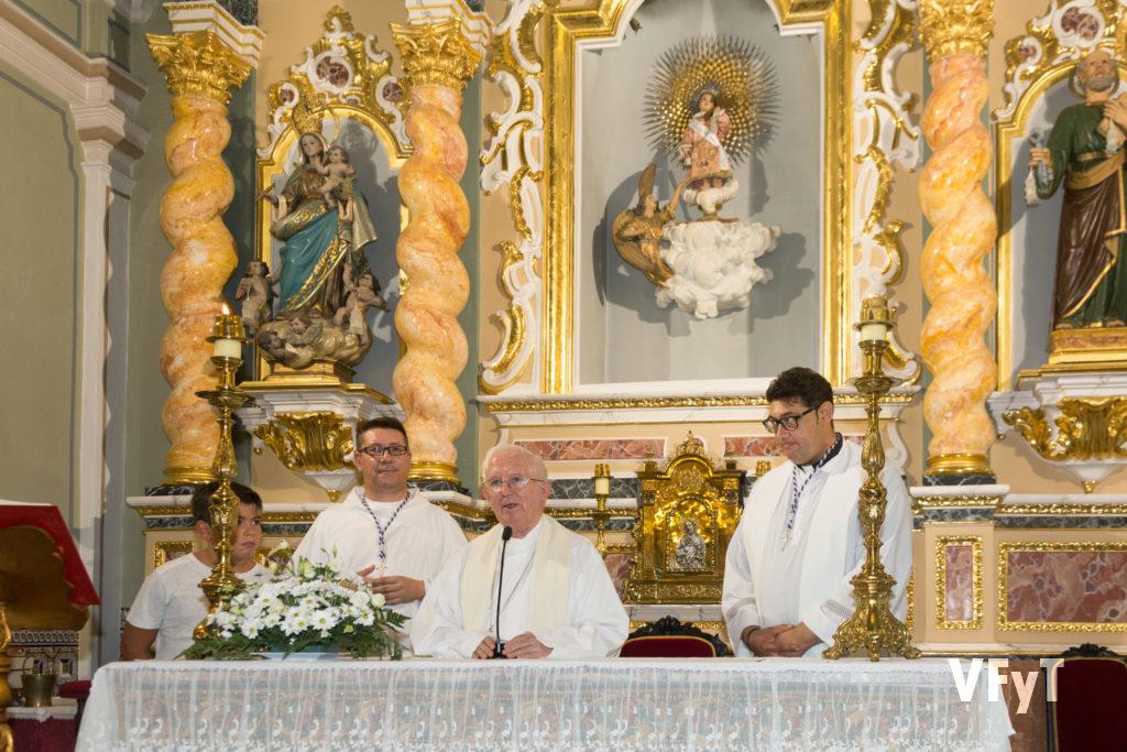 Anuncio del Año Santo Jubilar por el arzobispo de Valencia, cardenal Antonio Cañizares.