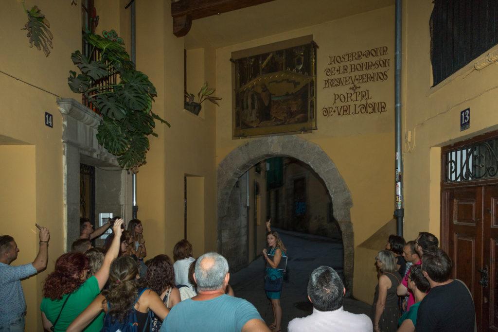 Portal de Valldigna en la ruta 'Mitos y leyendas a la luna de Valencia'
