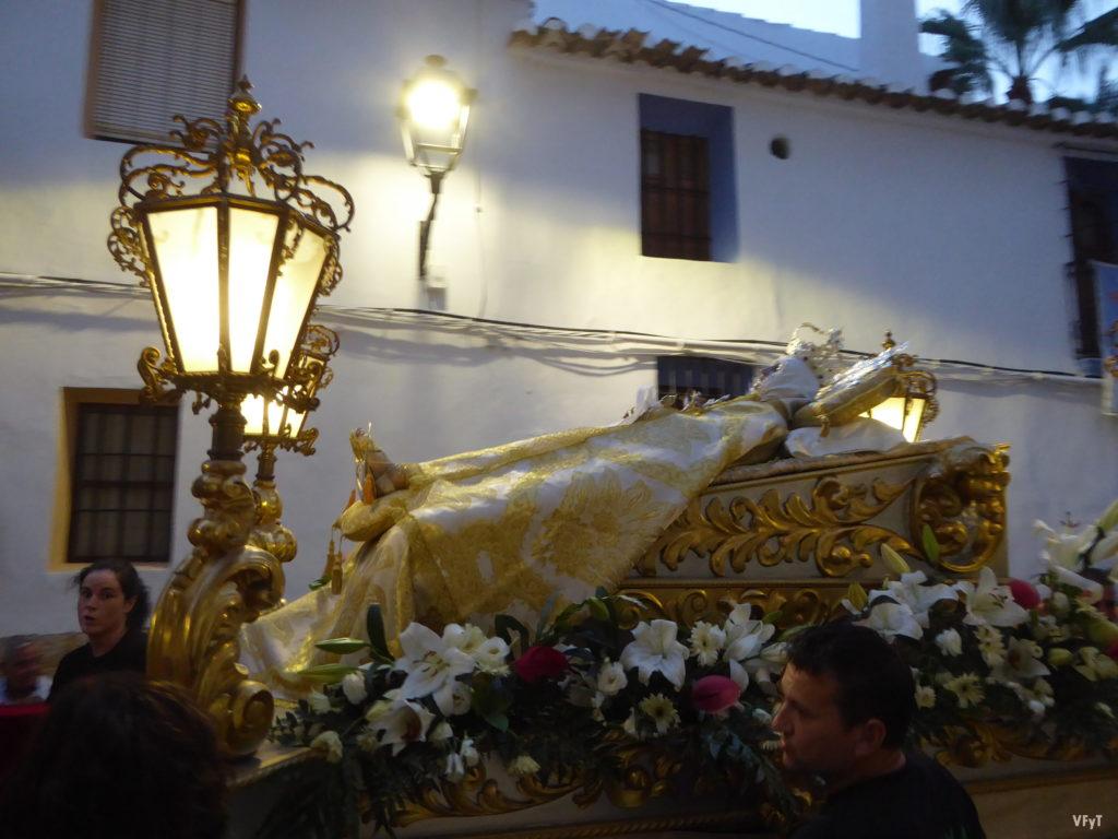 Procesión de Sant Roc y la Mare de Déu de l'Assumpció en La Nucía