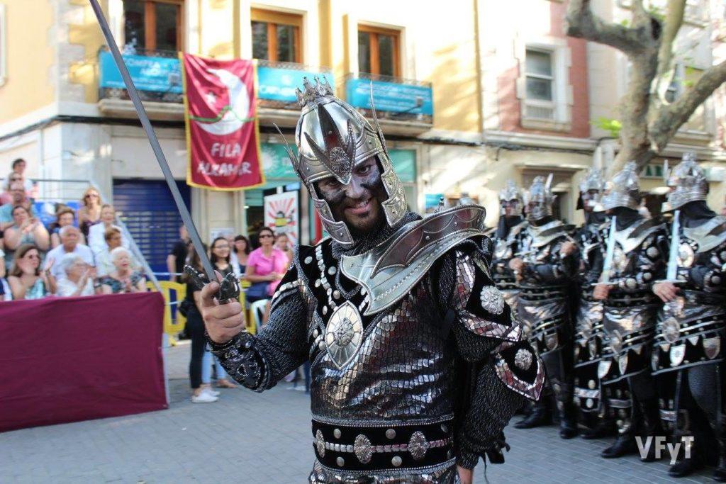 Gran Desfile de Gala de Moros y Cristianos en Dénia