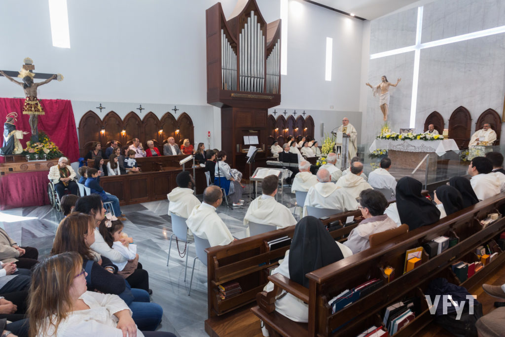 Celebración del final del Año Jubilar por el 800º aniversario de la Orden de Predicadores, celebrado en el monasterios de las Dominicas de La Coma (Paterna). Foto de Manolo Guallart.