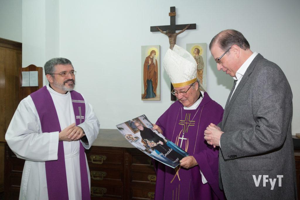 Las iniciativas de los Amigos de San Antonio para rememorar y difundir la obra y el legado de Fray Conrado. Foto de Manolo Guallart.