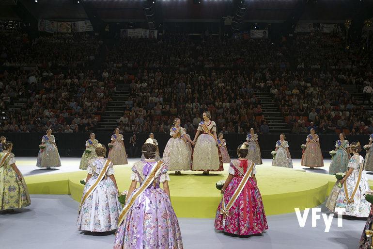 Elección de las Cortes de Honor de las Falleras Mayores de València 2018