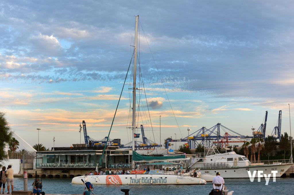 Ambiente en La Marina.