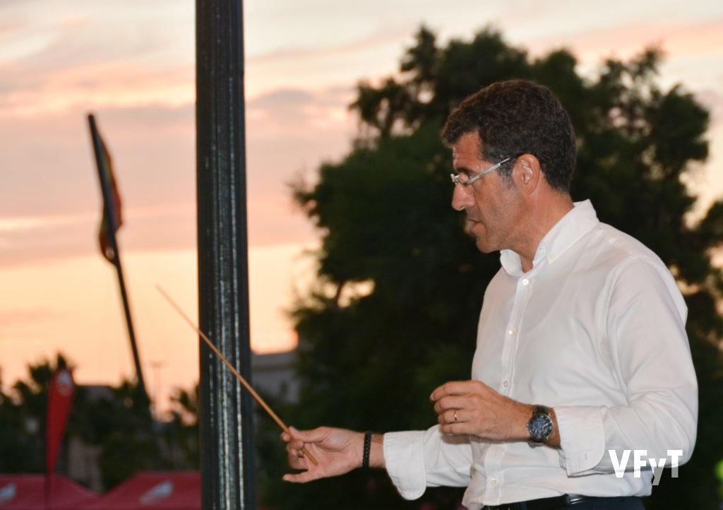 El director de la Banda Municipal de València, Fernando Bonete.