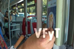Viajes gratis en bus por el Día sin coches.