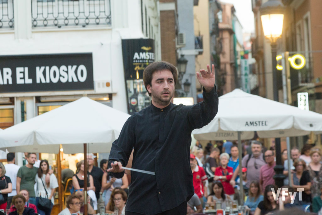 Vicente Gabarda, director de la Unió Musical ' Centre Històric' de València