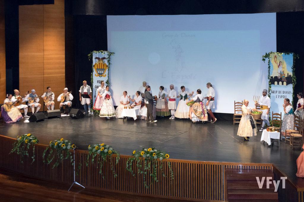 Celebración del  XX aniversario del Grup Danses L'Espolí en Paiporta