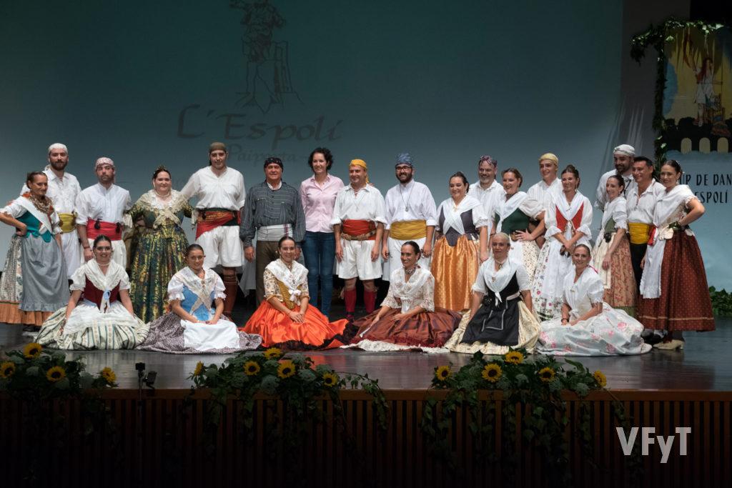 Grup Danses L'Espolí de Paiporta en su XX aniversario