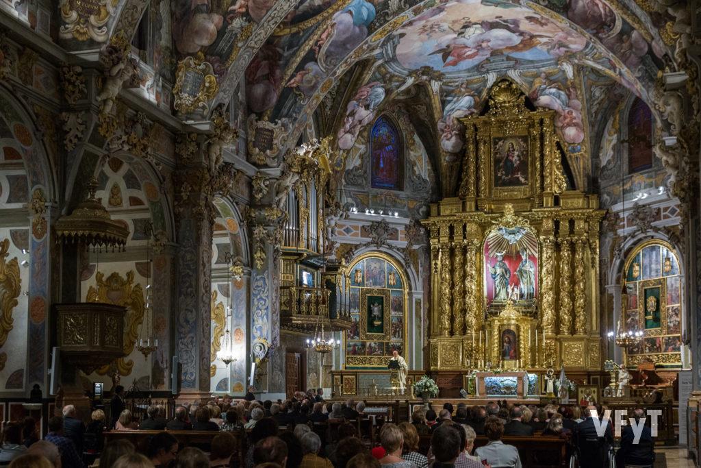Eucaristía vicentina en la parroquia de San Nicolás de Bari y San Pedro Mártir. Foto de Manolo Guallart.