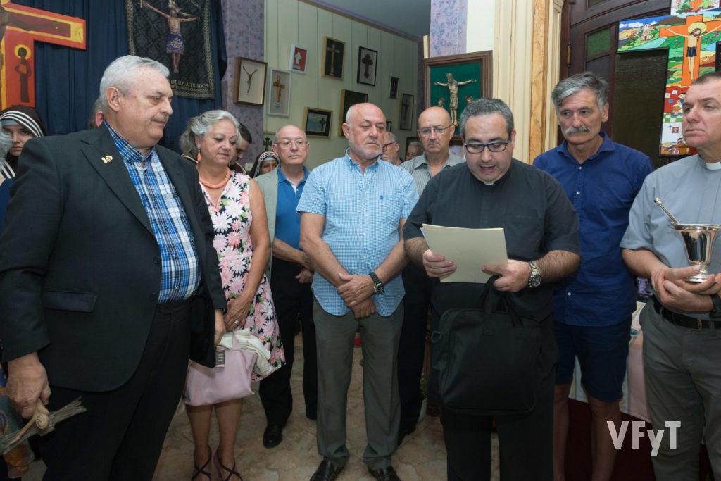 Inauguración del VIII Salón Internacional de Cruces en Canyamelar.