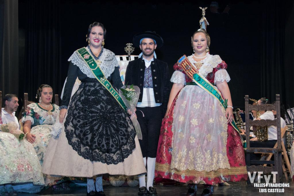 Con la Reina de Castelló, Carla Bernat.