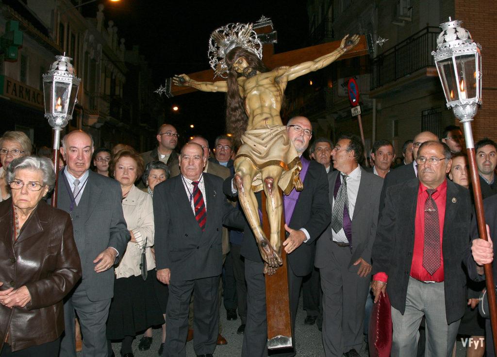 Cristo del Salvador en el Cabañal. Foto: Manolo Guallart.