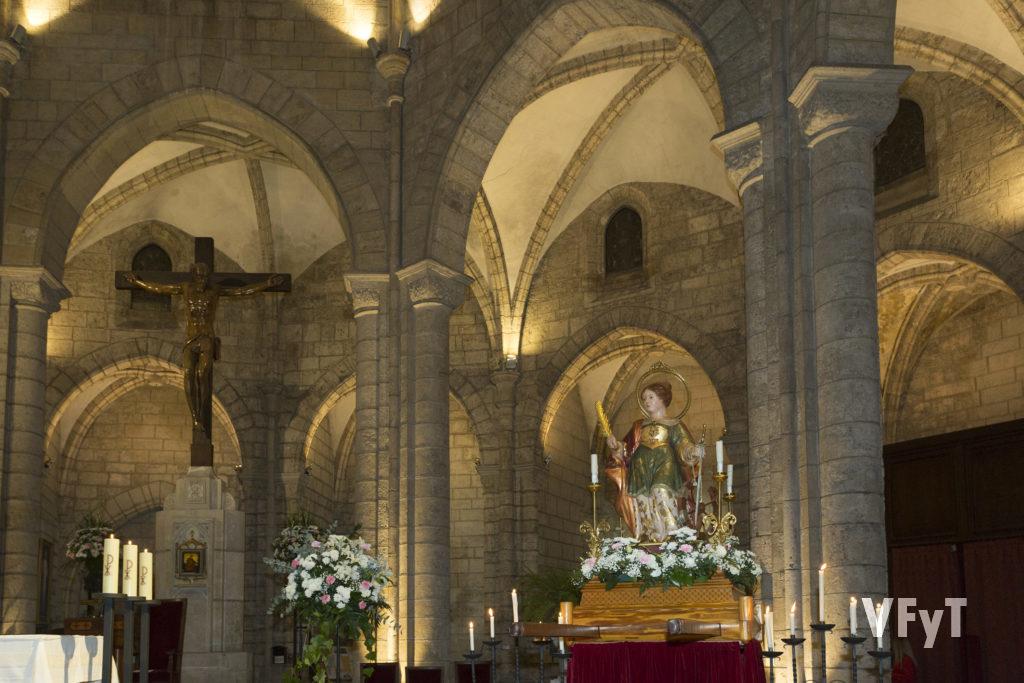Santa Catalina, obra de los artistas Ceballos y Sanabria.