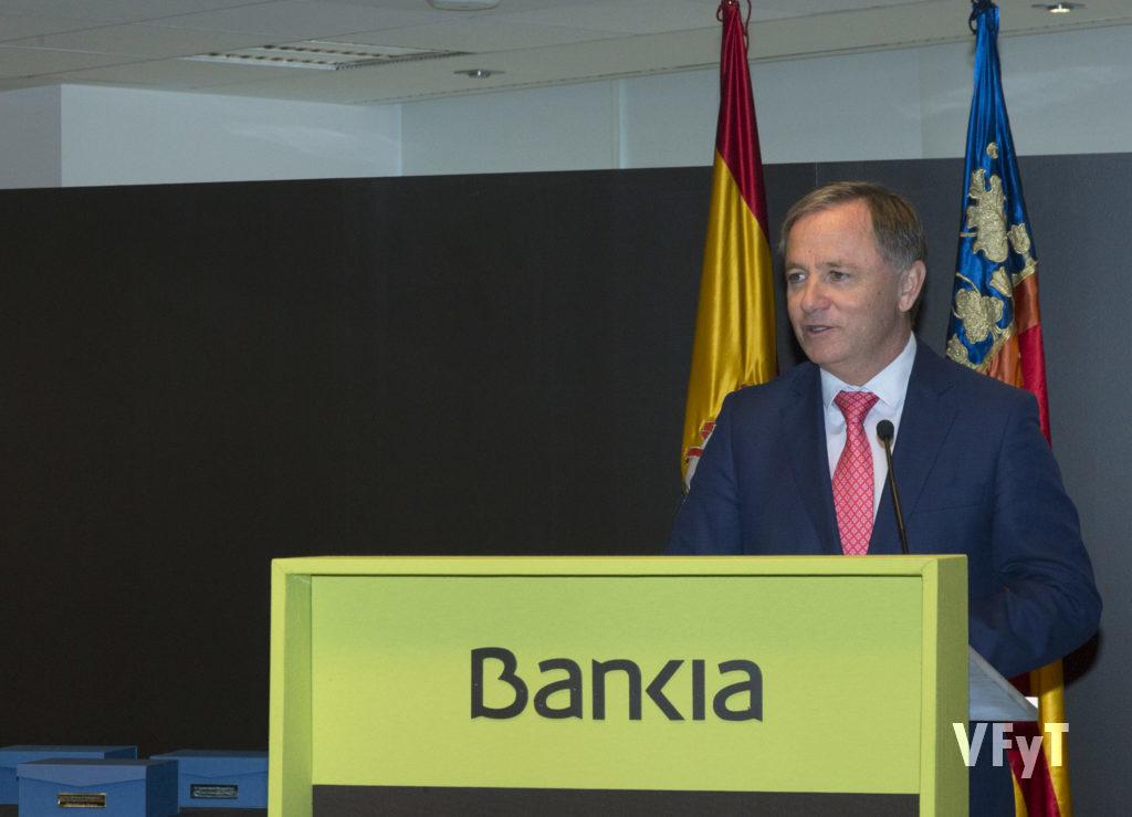 El Delegado del Gobierno, Juan Carlos Moragues, en su intervención.