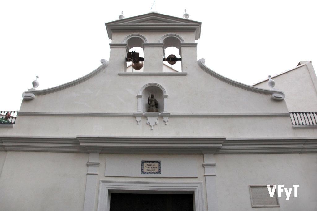 Ermita de Santa Lucía. Calle del Hospital nº 15 de Valencia.