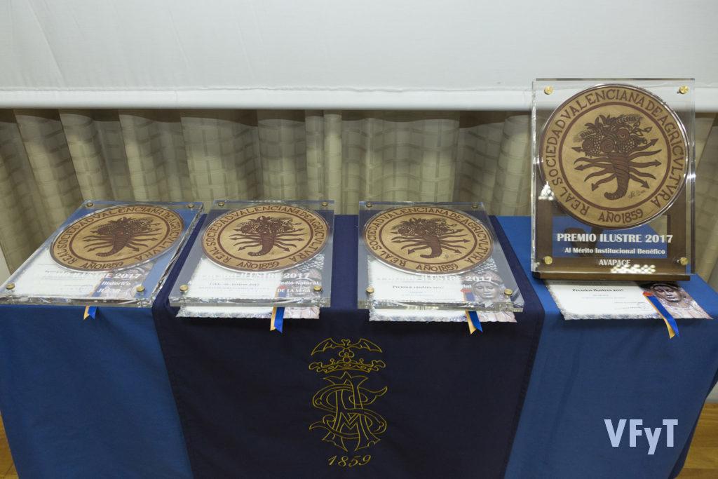 II edición de los Premios Ilustres (Real Sociedad de Agricultura y Deportes)