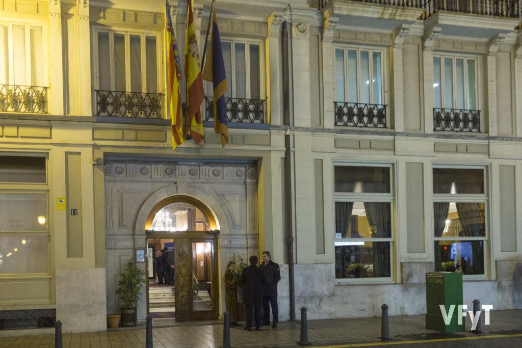 Real Sociedad de Agricultura y Deportes, en la calle Comedias nº 12 de Valencia.