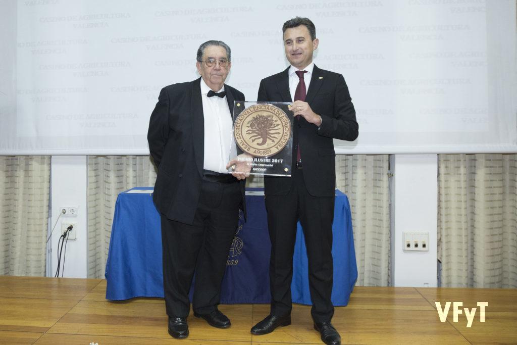 ANECOOP Alejandro Martínez García, Presidente