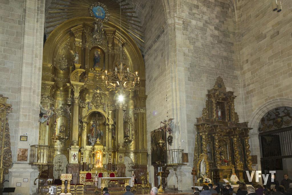 Iglesia del Salvador en Caravaca de la Cruz.