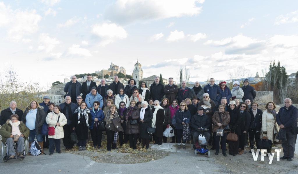 Reciente visita de la Hermandad de Seguidores de la Virgen y de Amics del Corpus de Valencia a Caravaca por el Año Santo Jubilar. Foto de Manolo Guallart.