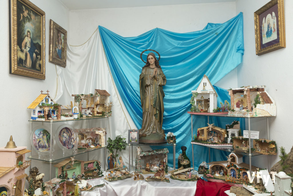 Belenes de Fray Conrado en el Convento de San José. Foto Manolo Guallart.