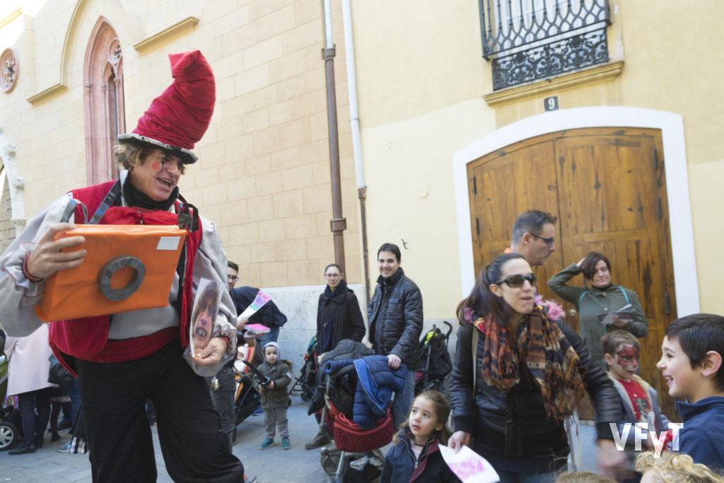 Juegos infantiles en la parroquia de San Nicolás
