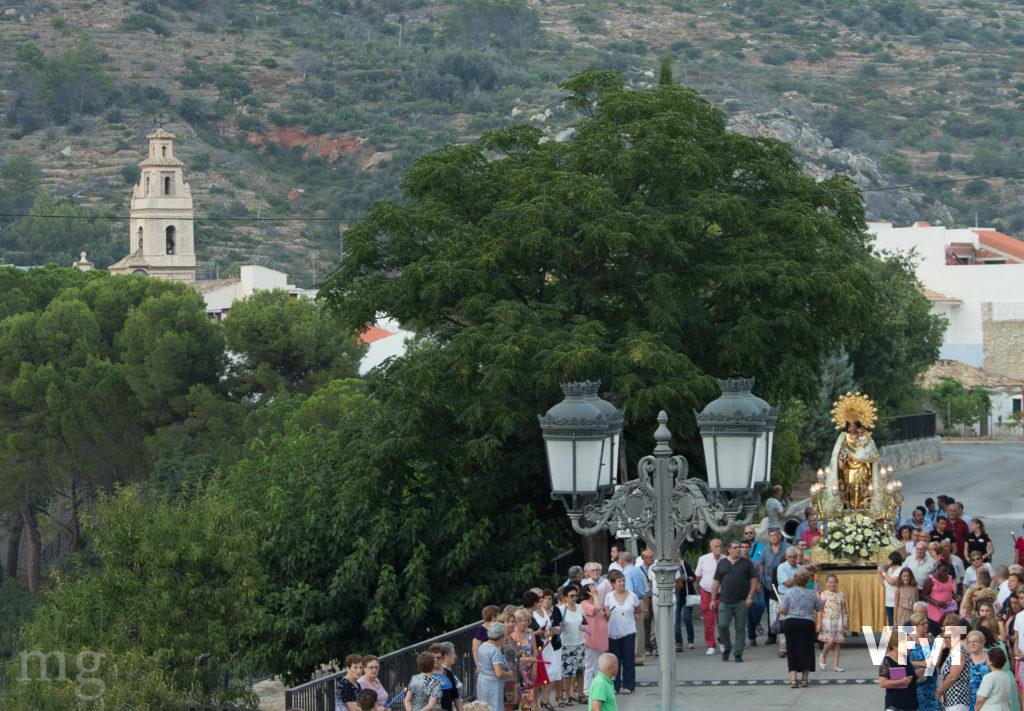 Visita de la Virgen a Benigembla (Alicante). Foto de Manolo Guallart.