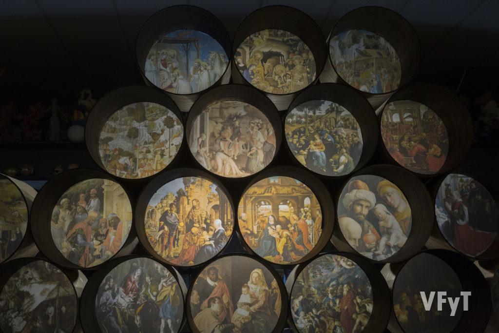La Adoración de los Reyes Magos a través de maestros de la Pintura universal.